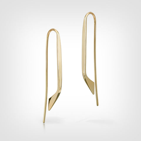 Pemberton  14k gold earrings