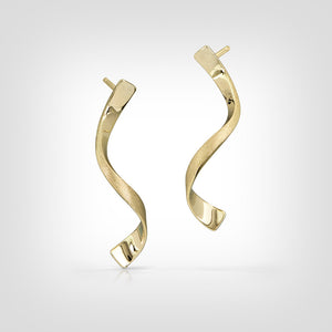 Merrial - 14k gold earrings