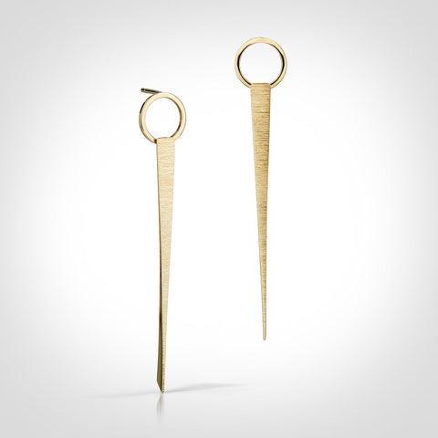 Yardley - 14k gold earrings
