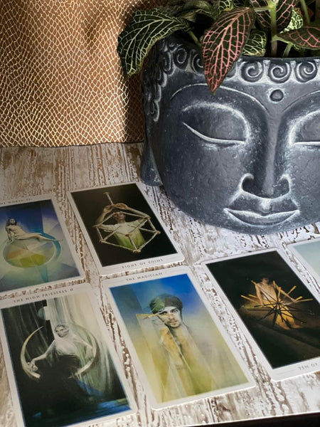 """The Fountain"" Tarot Cards"