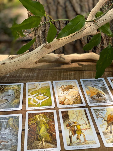 """The Wild Root"" Tarot Cards"