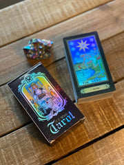 """Rider Waite Holographic"" Tarot Cards"