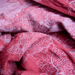 DIDYMOS Magic Forest Marsala (Linen Blend)