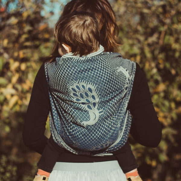 DIDYMOS Pfau Very Blue (Wool Blend)