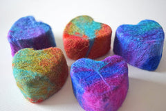Heart Felted Soap (NEW BATCH MAY 1st)