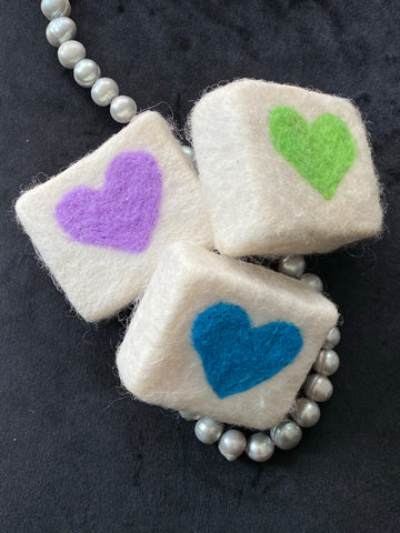 Egyptian Lemon and Eucalyptus Felted Soap