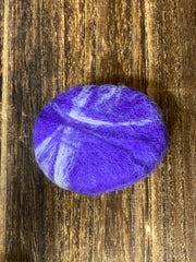 Oval Felted Soap (Lilac)