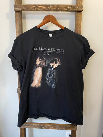 Florida Georgia Line (Retro T-Shirt)