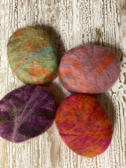 Oval Felted Soap (Winter Cashmere)