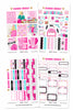 Blonde Glam Weekly Kit Planner Stickers