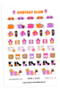 Everyday Glam October Planner Stickers