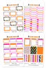Glam Basics October Digital Planner Stickers