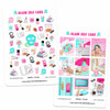Glam Self Care Digital Planner Stickers