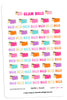 Glam Bills Digital Planner Stickers
