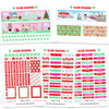Glam December Headers Digital Planner Stickers