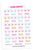 Glam Dentist Planner Stickers