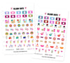 Glam Eats Digital Planner Stickers