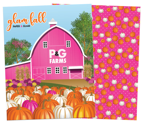 Glam Fall Planner Cover