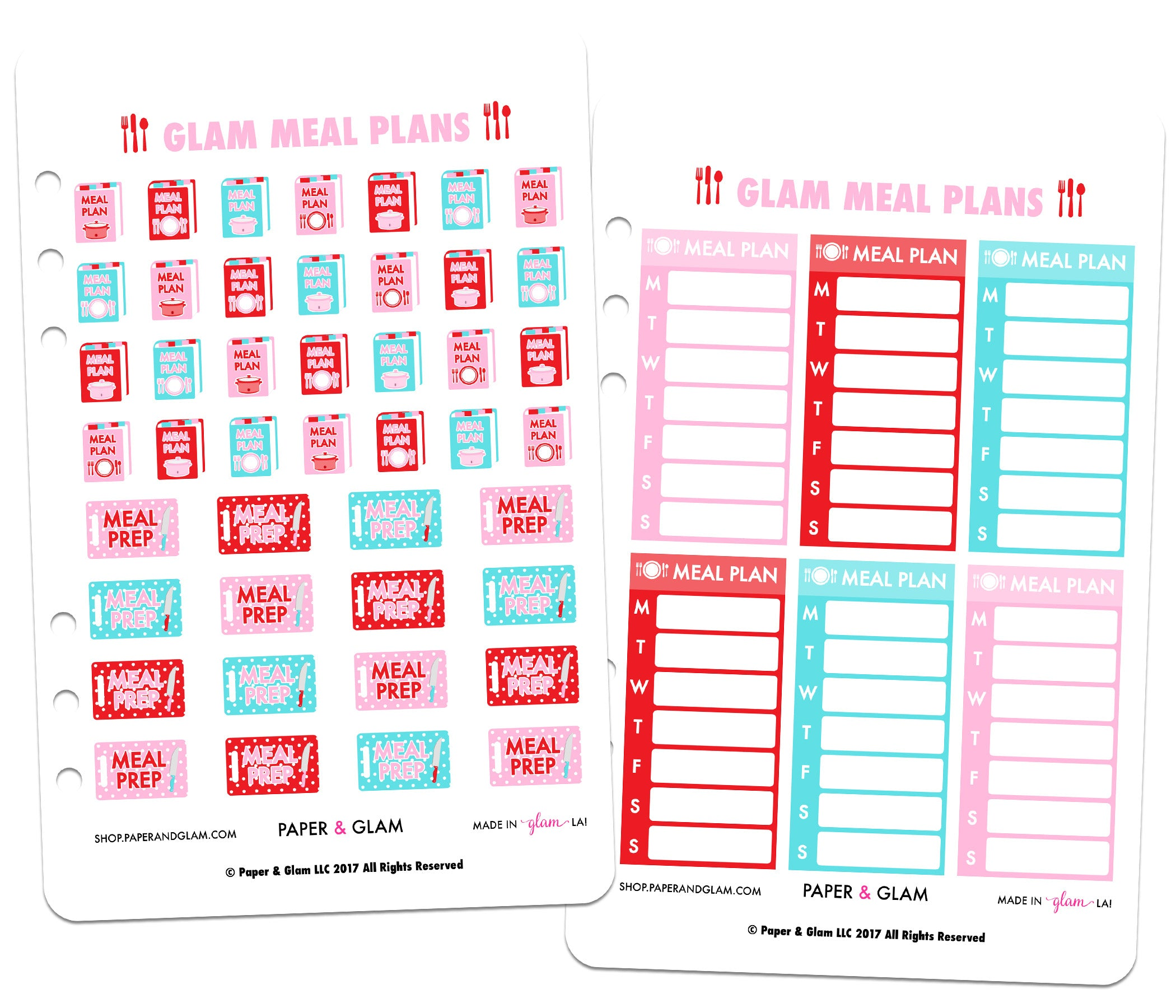 meal planning planner