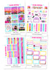 Glam Festival Weekly Kit Planner Stickers