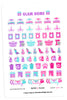 Glam Home April Planner Stickers