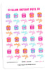 Glam Instant Pot Digital Planner Stickers