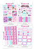 Glam Beauty Weekly Kit Digital Planner Stickers
