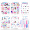 Glam January Digital Planner Stickers