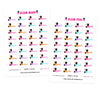 Glam Mani Pedi Digital Planner Stickers
