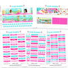 Glam May Headers Planner Stickers