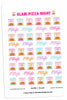 Glam Pizza Night Planner Stickers