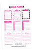 Glam Plans August Planner Stickers