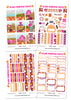 Glam Pumpkin Patch Weekly Kit Digital Planner Stickers