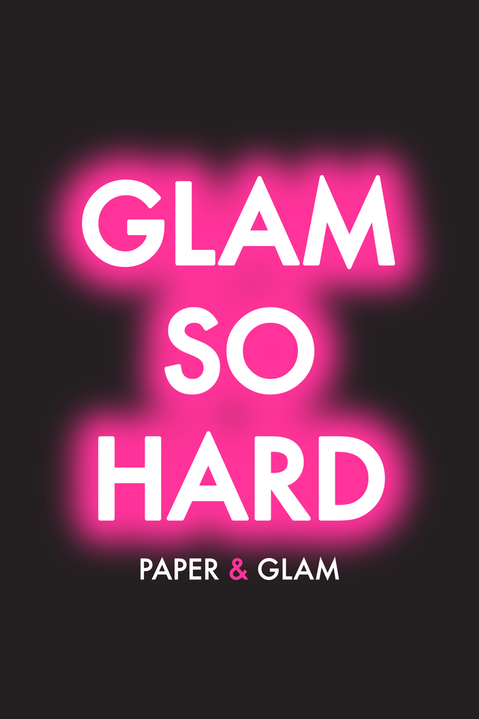 Glam So Hard Dashboard