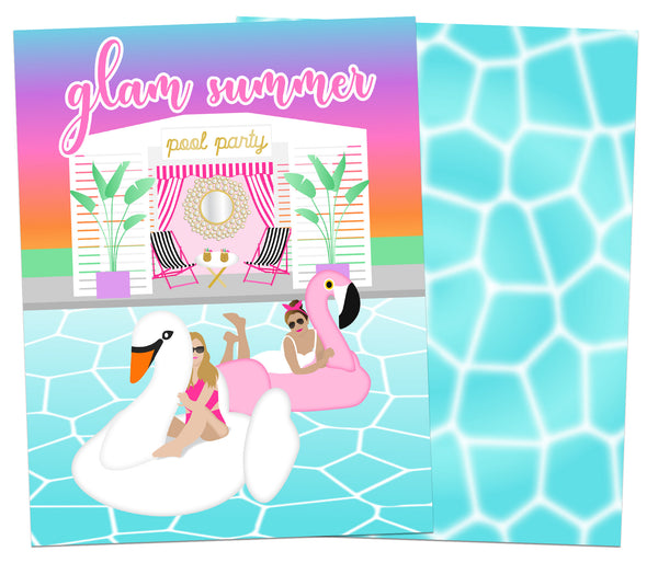 Glam Summer Planner Cover