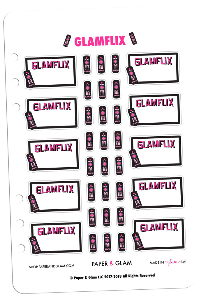 Glamflix Digital Planner Stickers