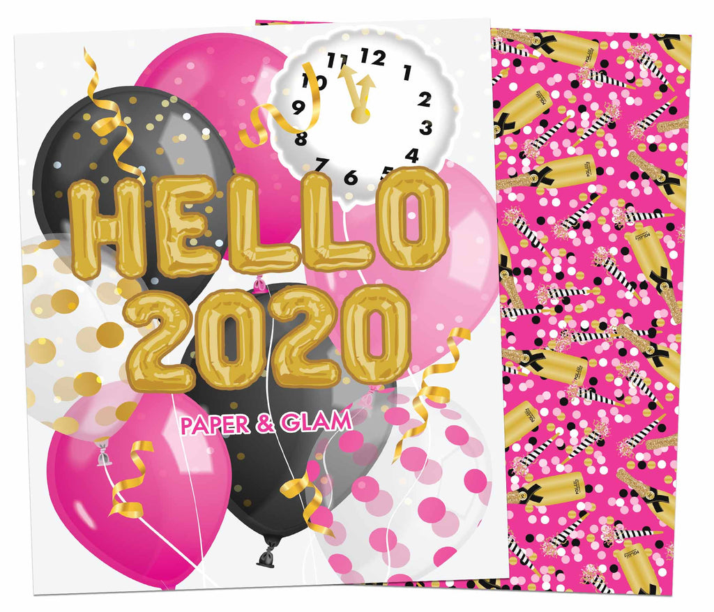 Hello 2020 Planner Cover