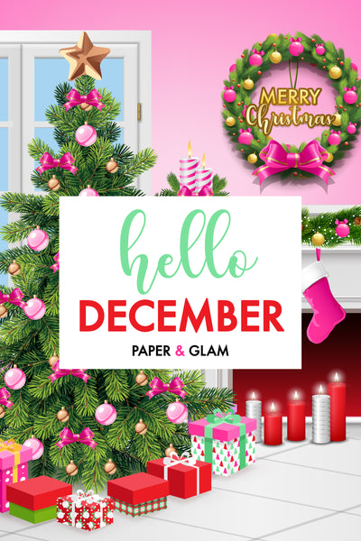 Hello December Digital Dashboard & Lockscreen