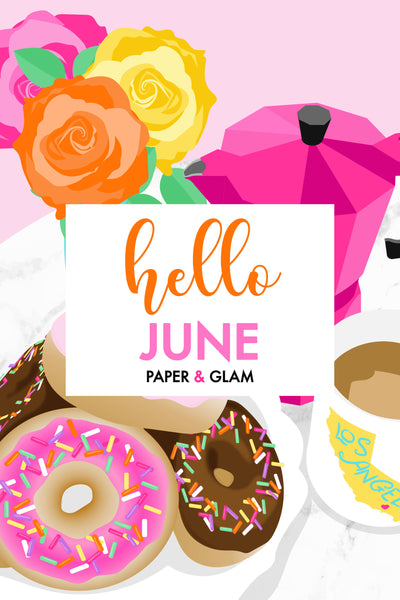 Hello June Digital Dashboard & Lockscreen