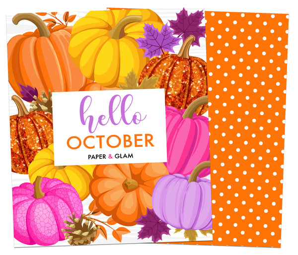 Hello October Planner Cover