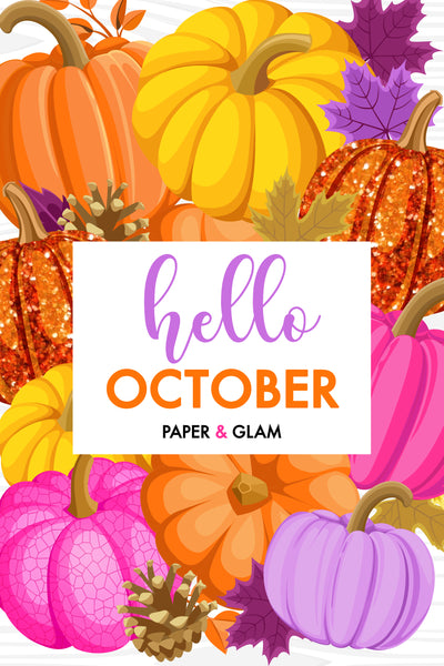 Hello October Digital Dashboard & Lockscreen