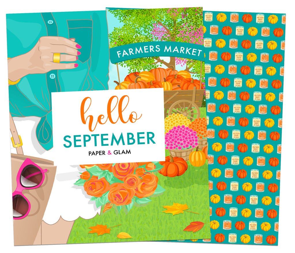 Hello September Planner Cover