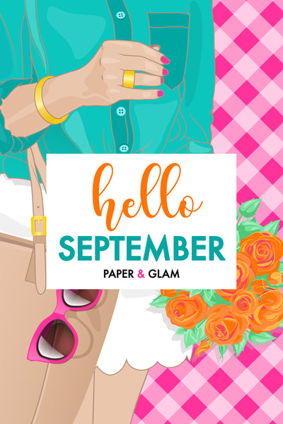 Hello September Digital Dashboard & Lockscreen