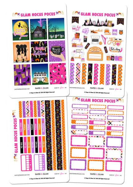 Hocus Pocus Weekly Kit by Paper & Glam