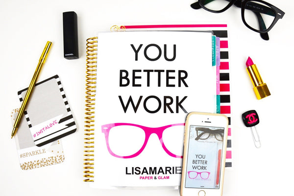 You Better Work Planner Cover