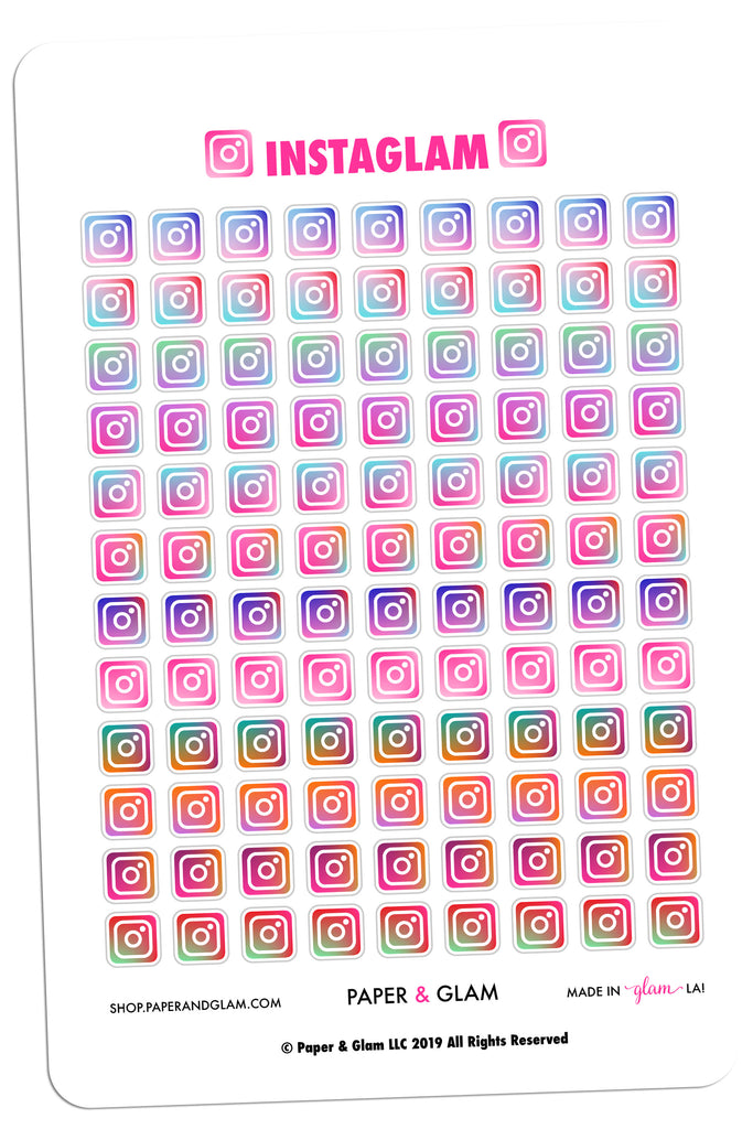 Instaglam Digital Planner Stickers