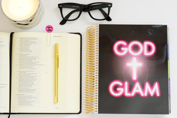God & Glam Planner Cover