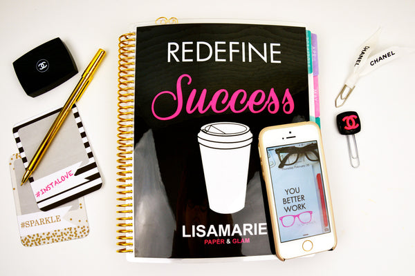 Redefine Success Planner Cover