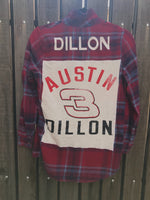[LTB Customs] Flannel with Name or Saying Embroidered