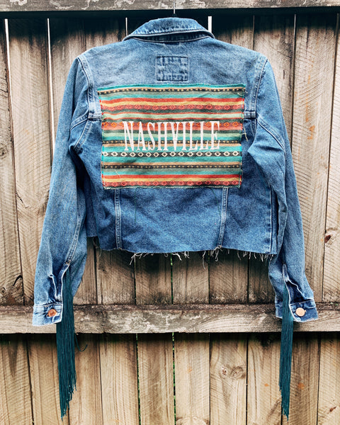 Nashville Jacket with Fringe
